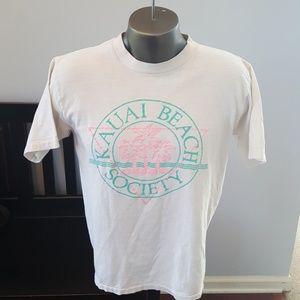 Vtg 1980s beach shirt